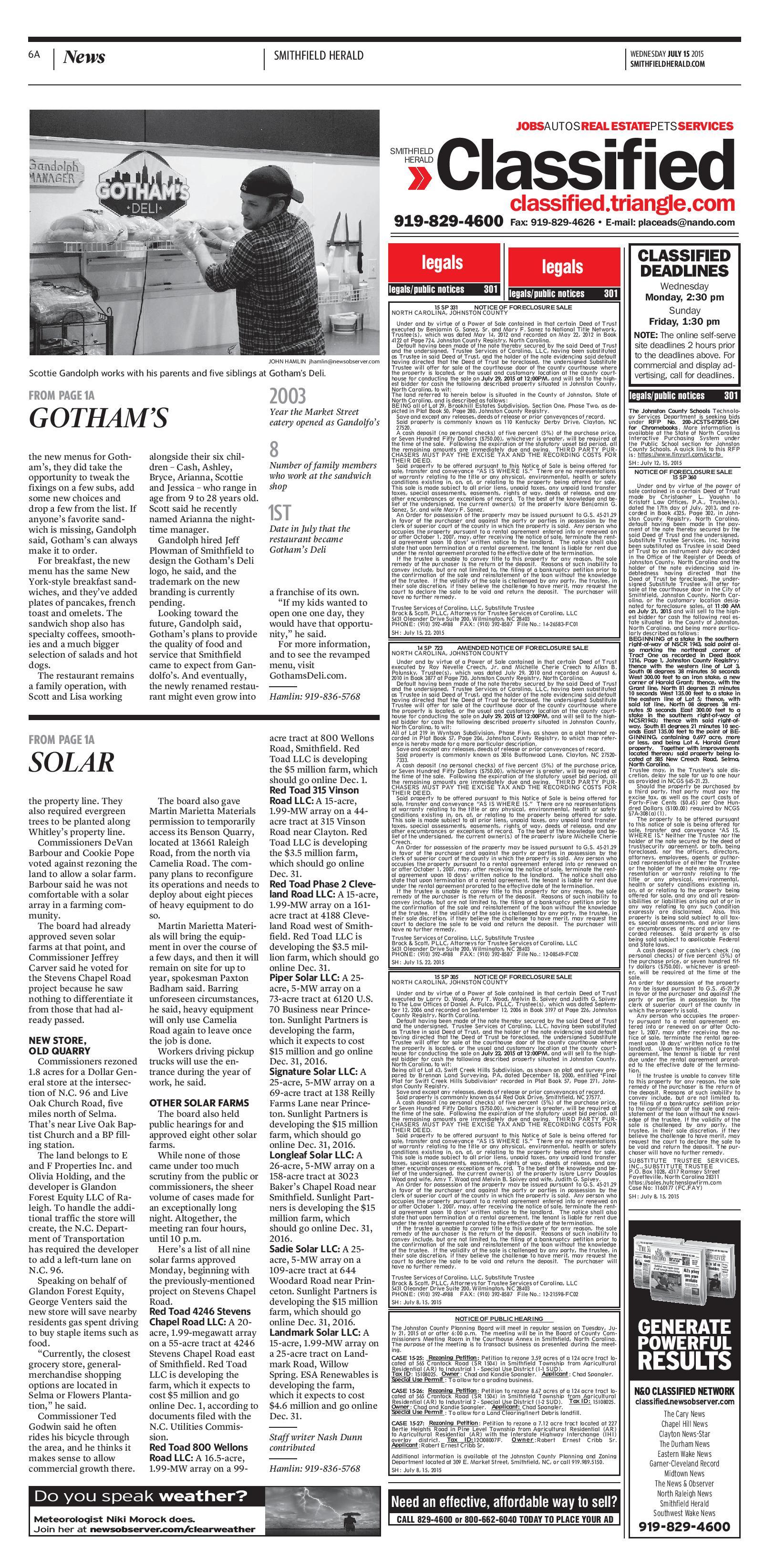 gotham story page 2